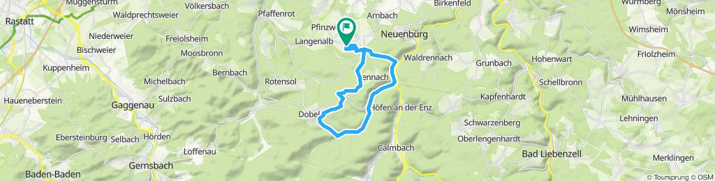 Moderate Route in Straubenhardt
