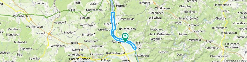 Einfache Fahrt in Remagen