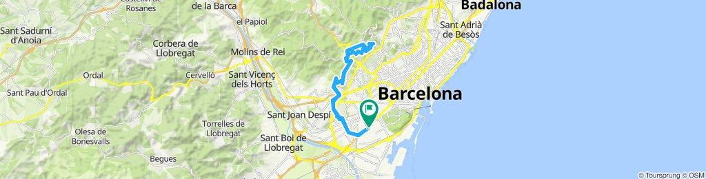 Paseo lento en Hospitalet de Llobregat