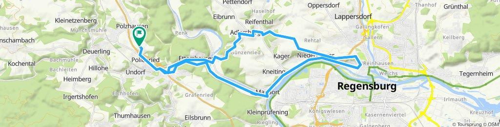 Einfache Fahrt in Pettendorf