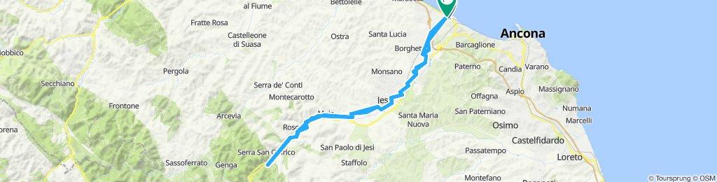 Giro da Rocca Priora a Gola della Rossa