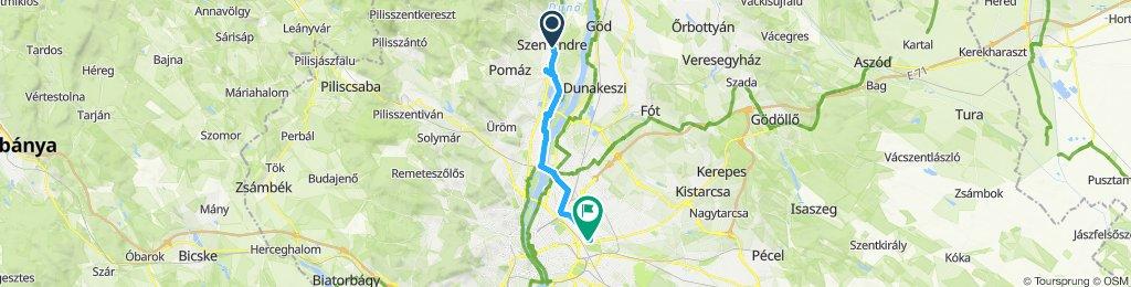 Slow ride in Budapest XIV. kerület