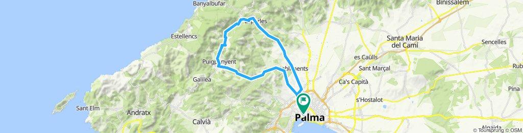 Lionel easy route - Puigpunyent - Esporlas