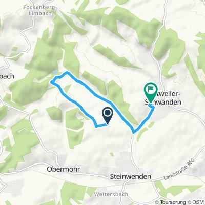 Gemütliche Route in Kottweiler-Schwanden