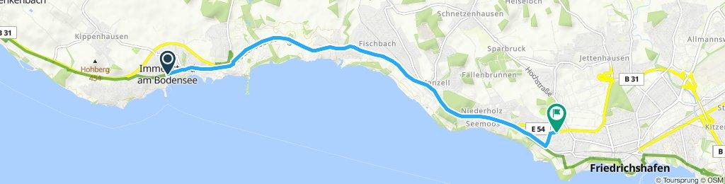 Caminhada lenta Friedrichshafen