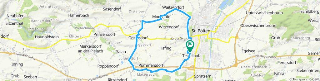 Schnelle Tour in St. Pölten