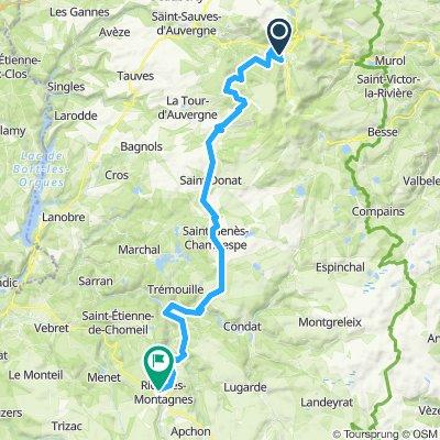 2019-25 Le-Mont-Dore to Riom-ès-Montagnes