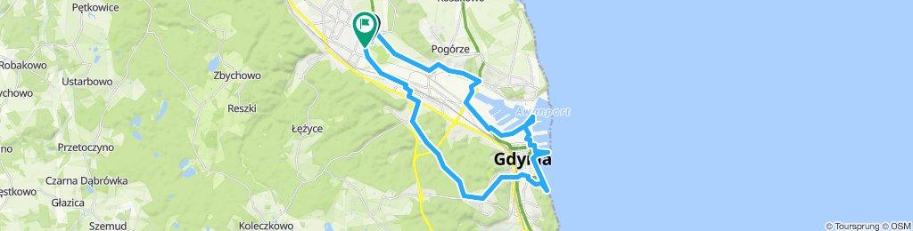 POLAND: Rumia - Gdynia - Rumia