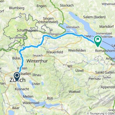 4/ Zurich > bout lac de constance