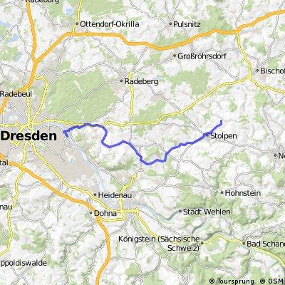 Radweg Schönfelder Hochland 2