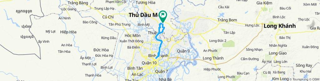 穩定的乘坐 Tx. Thuận An