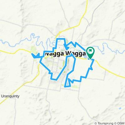 Wagga Wagga Wiradjuri route
