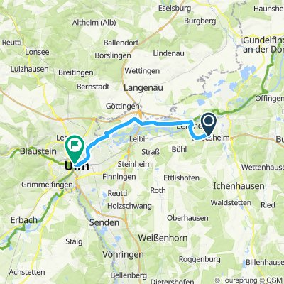 Moderate Route in Ulm
