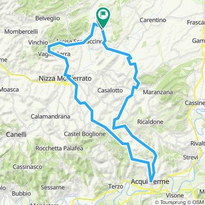 Castelnuovo Belbo Cycling