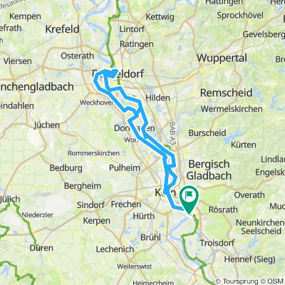 Porz - Düsseldorf - Porz