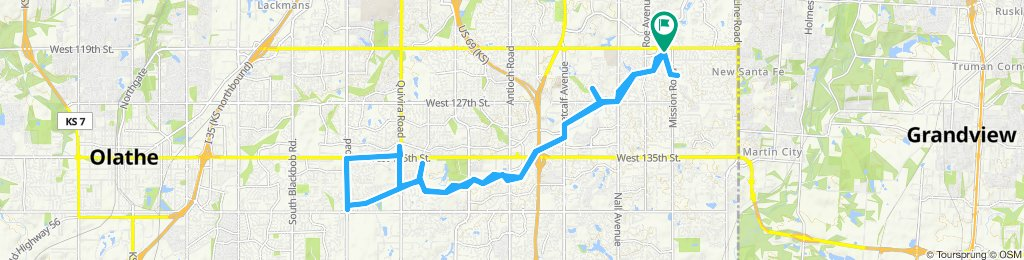 Supersonic route in Leawood