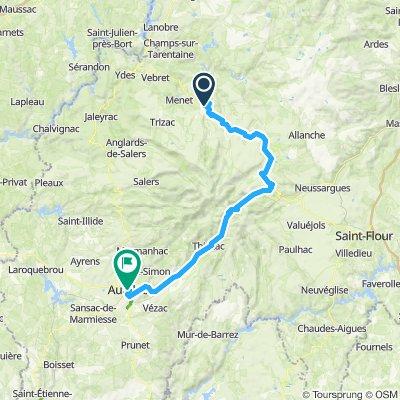 2019-26 Riom-ès-Montagnes to Aurillac