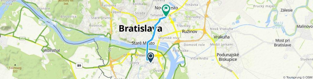Uvoľnená trasa Bratislava