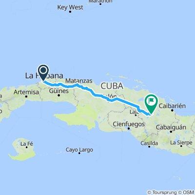 1.Havana to Santa Clara