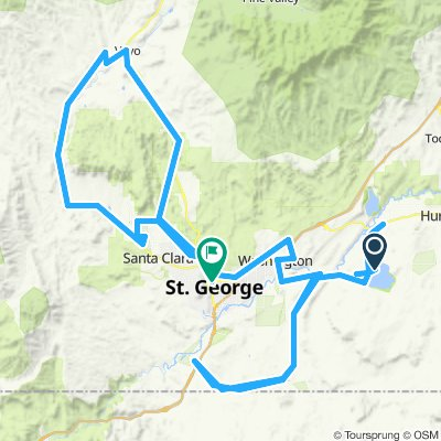 2020 IM St. George Bike Course