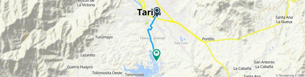 Ruta tranquila en Tarija