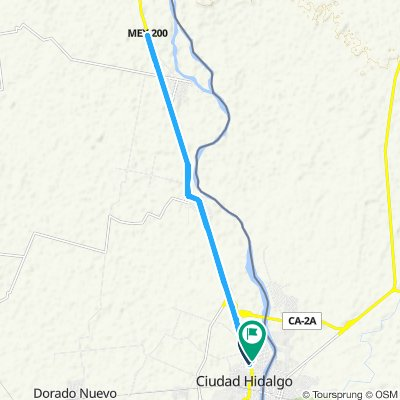 Ruta relajada en Ciudad Hidalgo