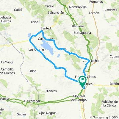 Circular Gallocanta per Torrralba, Bello, Gallocanta i Berrueco