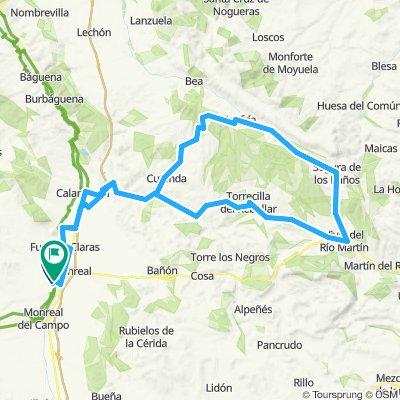 Circular Calamocha-Fonfría-Olalla-Torrijo