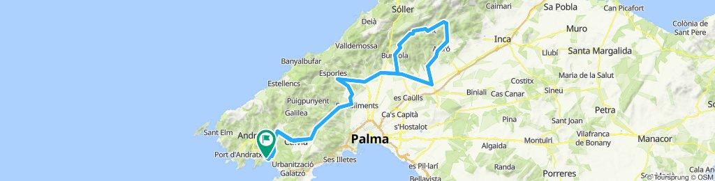 Paguera - Bunyola - Orient - Santa Maria - Paguera