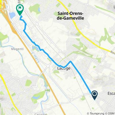 Itinéraire modéré en Labège