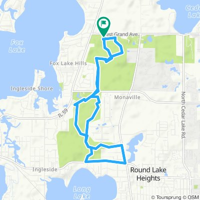 Fox Lake Hills Cycling