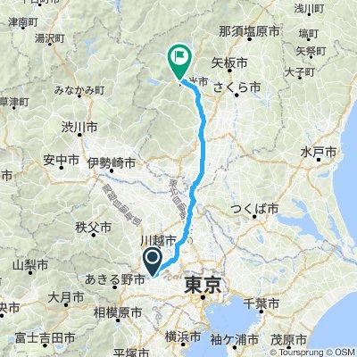 Start to Nikko