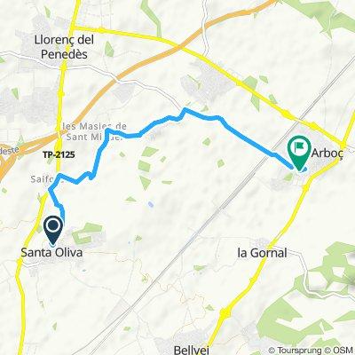 home to L'Arboc