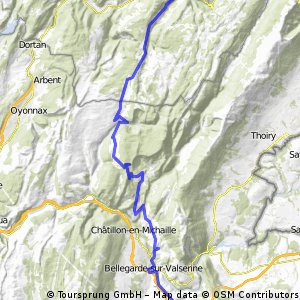 Genf - Freiburg 2. Etappe