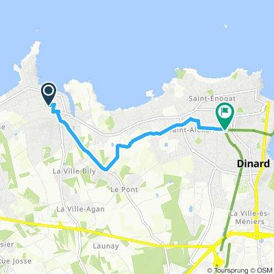 Itinéraire reposant en Saint-Lunaire