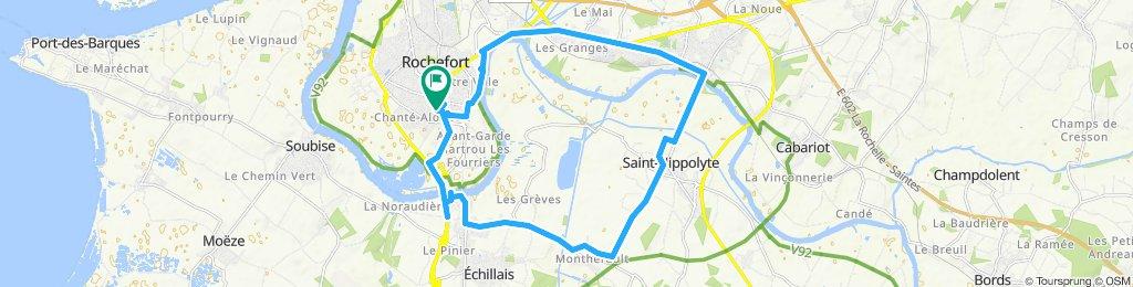 les deux ponts de Rochefort