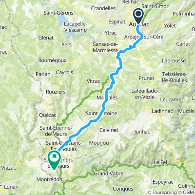 2019-29 Aurillac to Montmurat Bagnac