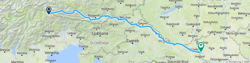 Drava Route