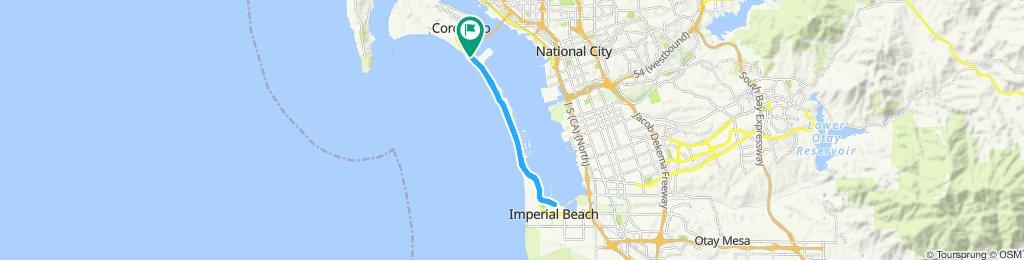 Steady ride in Coronado