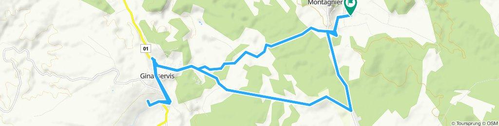 Itinéraire reposant en Saint-Julien-le-Montagnier
