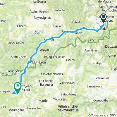 2019-30 Montmurat Bagnac to Limogne-en-Quercy