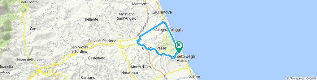 Rockride To Colleranesco/Montepagano