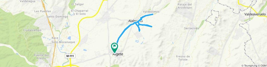Ruta Algete Alalpardo