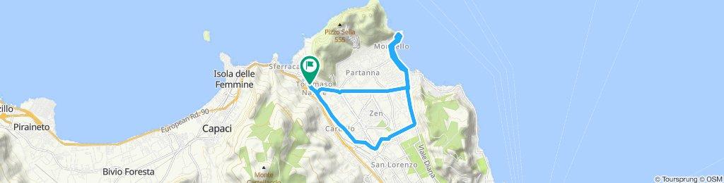 Percorso rilassato in Palermo