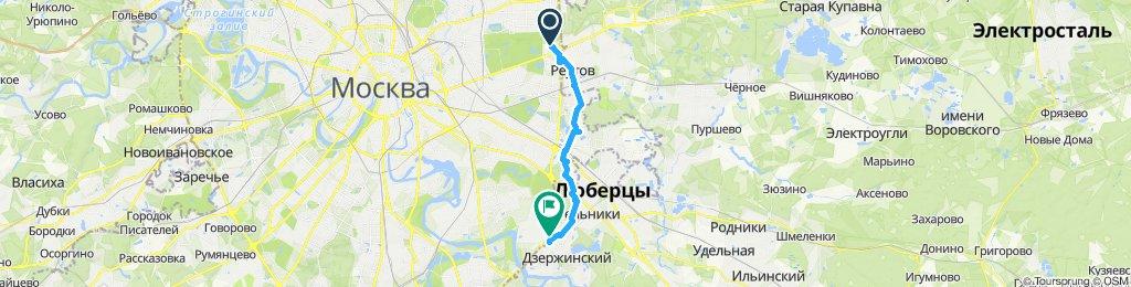 Ранне утренний велзабор из Дзержинского 01 11 2019
