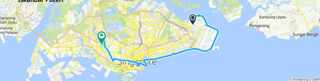 Spartan bike route