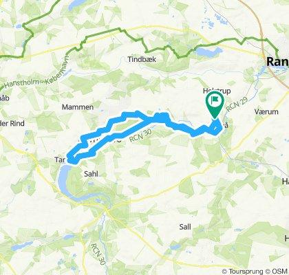 Gravel Langå 54 km