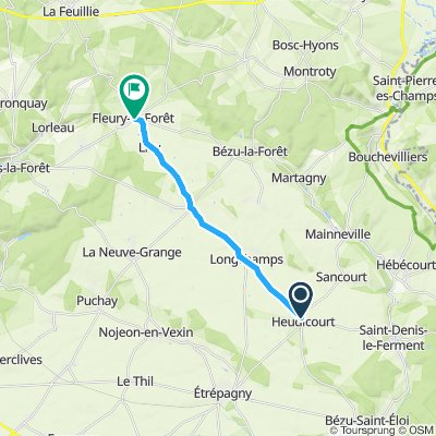 Fleury 12 km