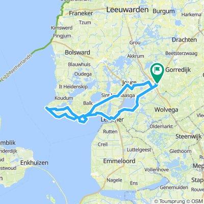 Heerenveen-Stavoren-Heerenveen