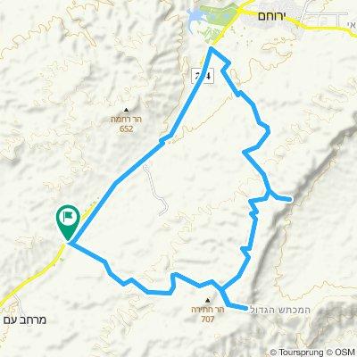 Maale Avraham to Shualim (Round)